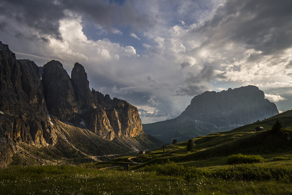 Dana Husárová – Taking photos in Dolomites